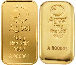 AGOSI-Goldbarren