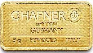 Goldbarren-5g-Feingold-9999-CHafner-Gold-und-Silberscheideanstalt