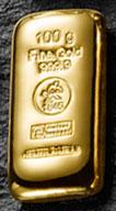 Heimerle-und-Meule-Goldbarren