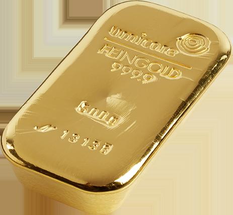 Umicore 500g Gold