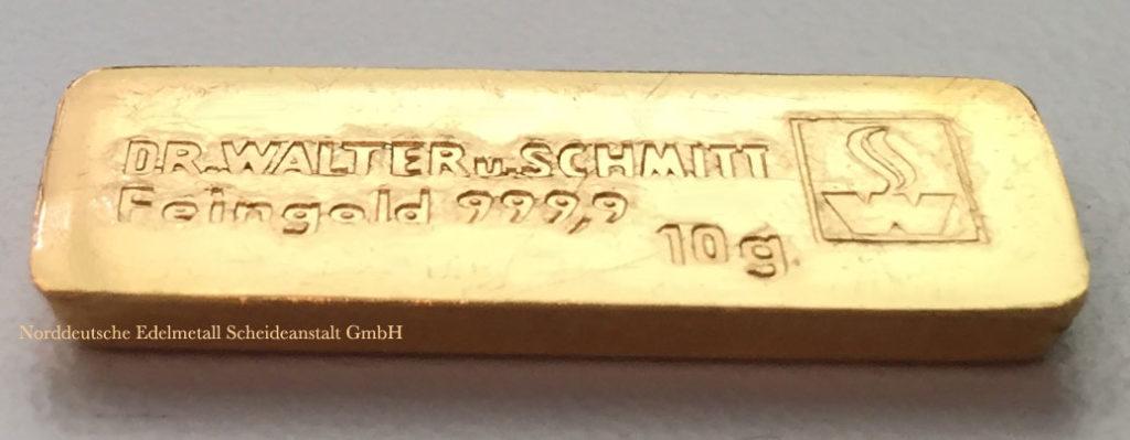 DrWalter-u.Schmitt-Gold 10-g