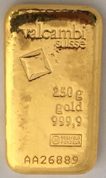 Gold Valcambi-250g