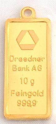 Dresdner B.-10g Gold