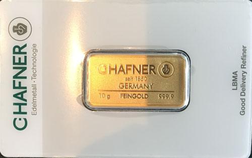 Gold 10g C.Hafner