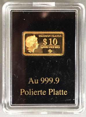 Gold 1g 9999