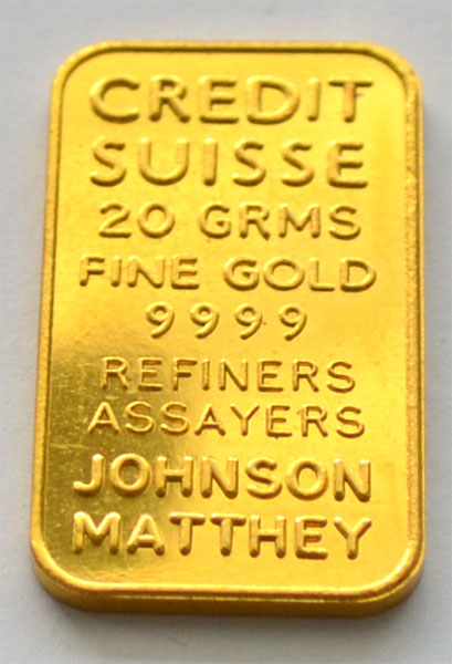 Gold 20g Johns./Matthey