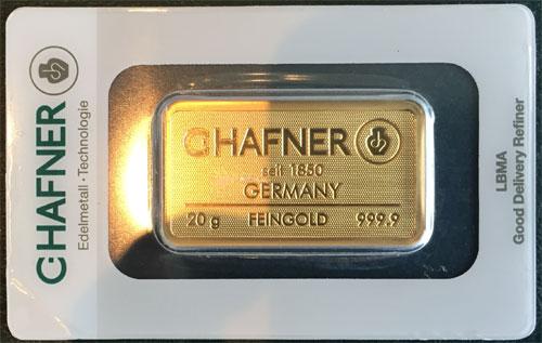 Gold 20g C.Hafner