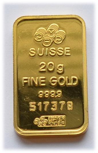 Gold 20g-PAMP