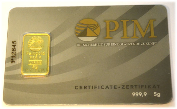 Gold 5g PIM