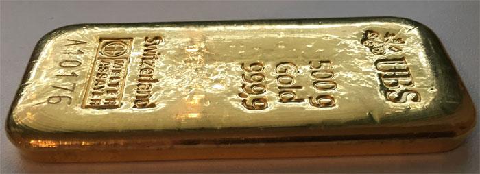 Goldbarren-500g-Feingold-9999-UBS-Schweiz