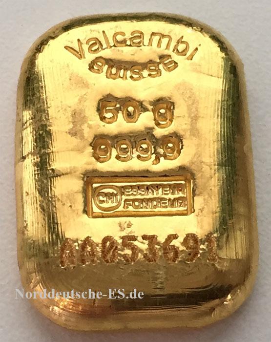 Goldbarren-9999-50-Gramm-Valcambi-Schweiz