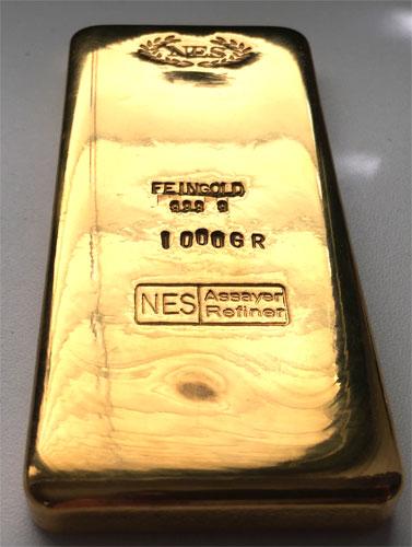 Goldbarren-Norddeutsche-ES-1000g-1Kg-Feingold-9999