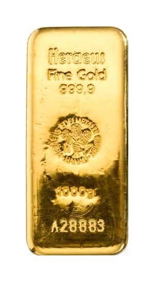Gold Heraeus 1Kg