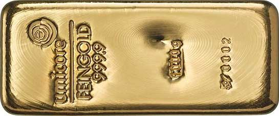 Goldbarren1000g-Umicore