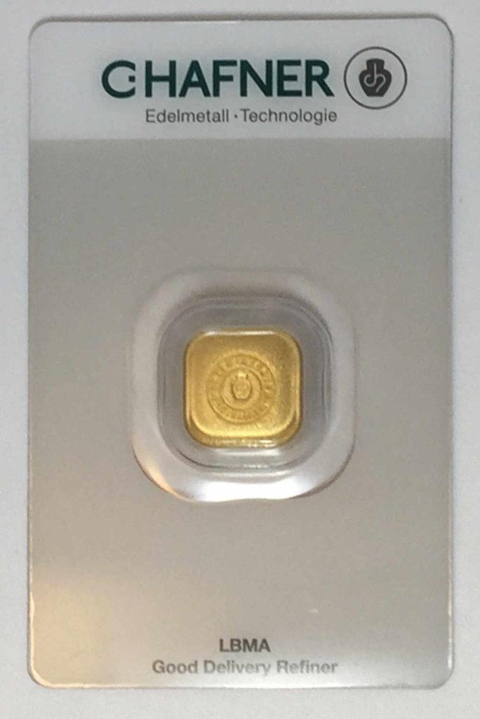 Hafner-Goldbarren-31.1g-999.9