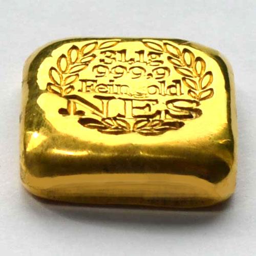 Norddeutsche ES 1oz Gold-9999-gegossen-NES