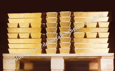 160 x 400oz Barren Gold