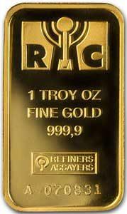 RMC-Goldbarren