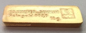 Dr-Walter-und-Schmitt-Goldbarren-10-g