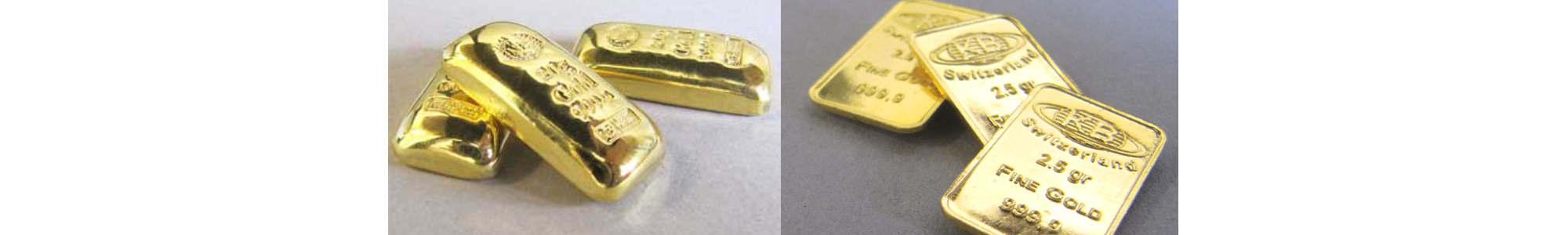 Goldbarren Varianten