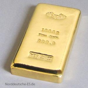 Goldbarren 1000g-9999 NES